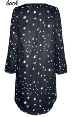 Charlie Black Star Dress