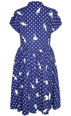 Frankie Cat Print Dress