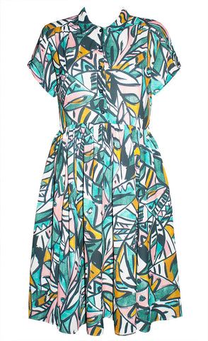 Frankie Abstract Print Dress