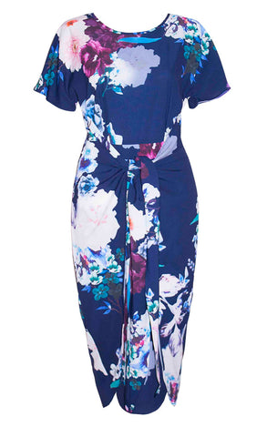 Brooke Navy Floral Dress