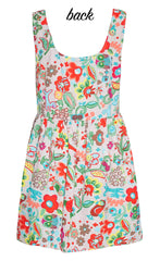 Alice Beige Floral Dress