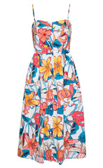 Eddie Tropical Floral Dress