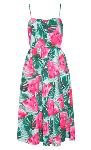 a91a89424e Eddie Watermelon Print Dress