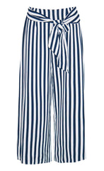 Second Chance Stripe Cropped Pants