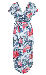 Arlo Mint Floral Dress