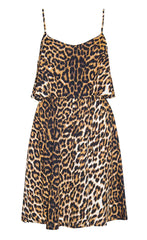 Courtney Leopard Print Dress