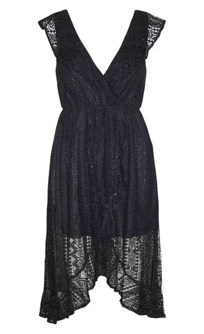 Gilmore Black Lace Dress