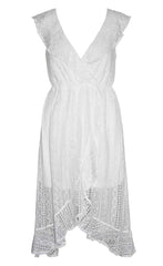 Gilmore White Lace Dress