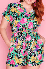 Vacation Native Flora Playsuit