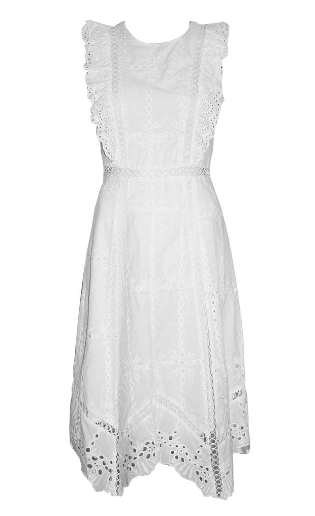 Palm Springs White Lace Dress