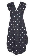 Jacqui Polka Dot Dress