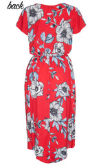 Soul Mate Red Floral Dress