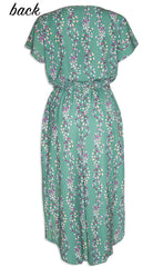 Sublime Green Floral Dress