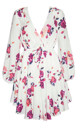 Alison White Floral Dress