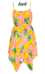 Carlie Banana Print Dress