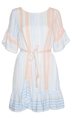 Ellie Pastel Stripe Dress