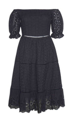 Natalia Black Lace Dress