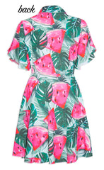 Paula Watermelon Print Dress