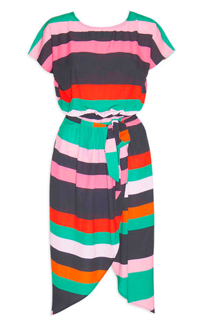 Soul Mate Pink Stripe Dress
