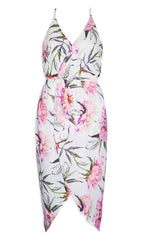 Pamela White Floral Dress