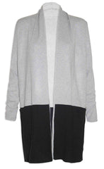 Top Deck Grey & Black Cardigan