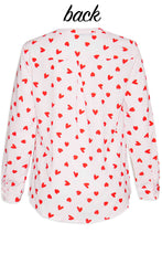 Ebony Love Heart Blouse
