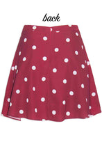 Carla Polka Dot Skirt