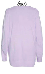 Monica Lilac Sequin Knit