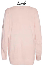 Monica Pink Sequin Knit