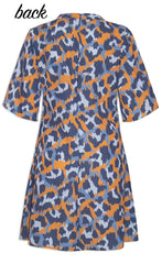 Roxanne Animal Print Dress