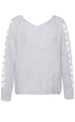 Love You Grey Knit
