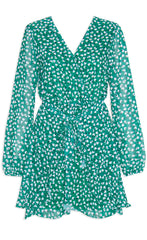 Anne Green Floral Dress