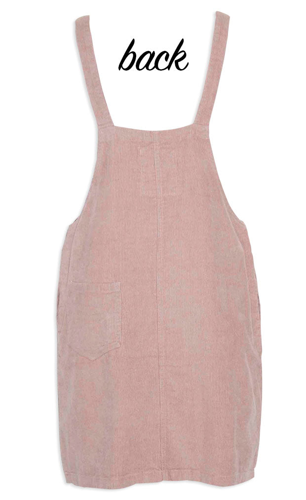 Pippa Pink Pinafore Dress