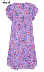 Inspire Purple Teacher Dress
