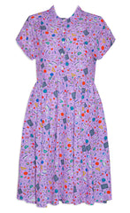 Frankie Purple Teacher Dress