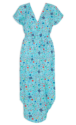Arlo Mint Teacher Dress