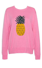 Tali Pink Pineapple Knit
