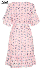 Emma Maggie Print Dress