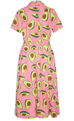 Florence Avocado Print Dress