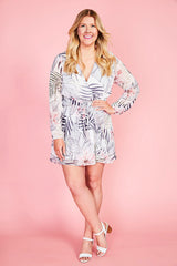 Anne White Tropical Dress