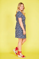 Archie Navy Floral Dress