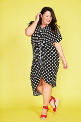 Talia Polka Dot Dress
