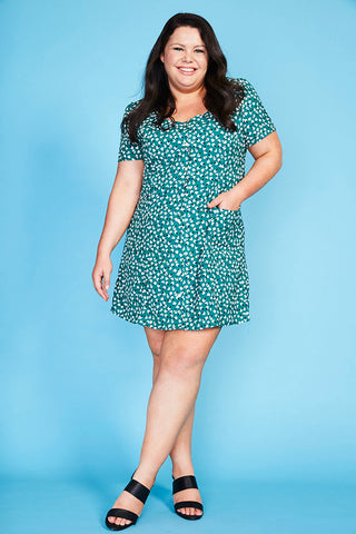 Archie Green Floral Dress