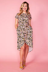 Soul Mate Pink Leopard Dress