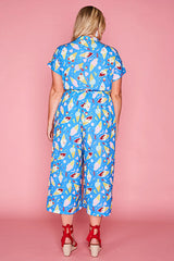 Tasty Blue Creamy Ice Dreamy Jumpsuit