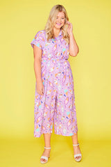 Tasty Lilac Creamy Ice Dreamy Jumpsuit