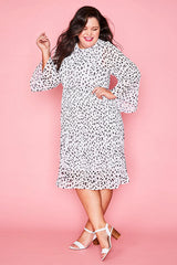 Dream State Dalmation Print Dress