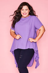 Lennox Purple Blouse