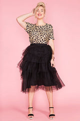 Broadway Black Tulle Skirt