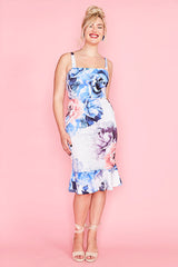 Lucinda White Floral Dress